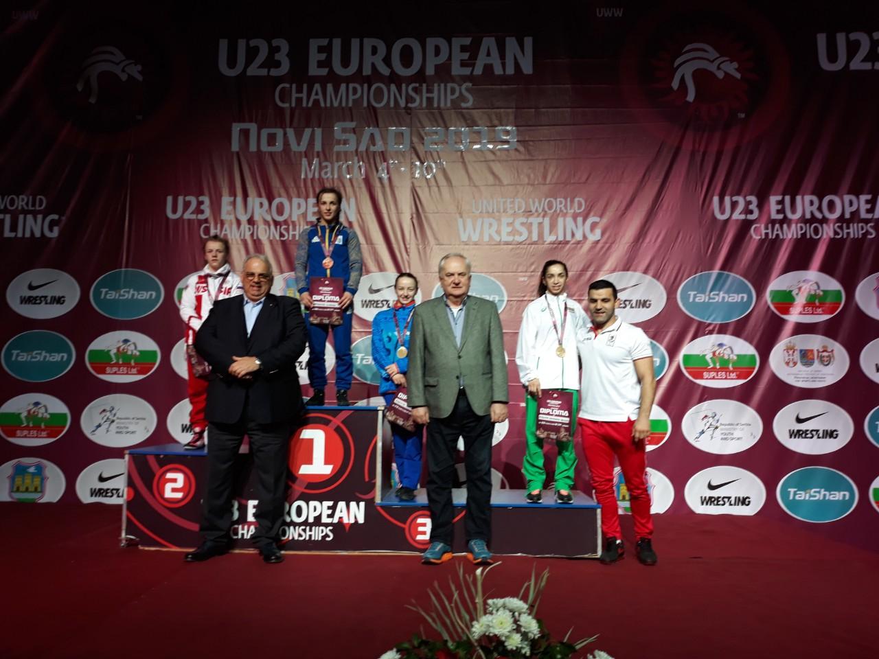 Още два медала за България от европейското по борба, днес започват свободняците