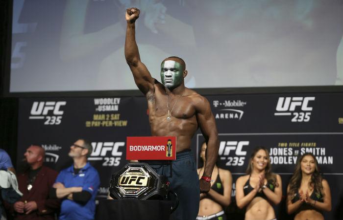 Усман: Категорията ми е най-интересната в UFC