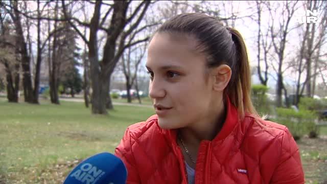 Ивет Горанова: Трябва да стана първа на Европейските игри