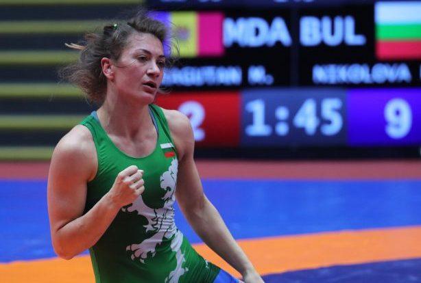 Евелина Николова трета в Европа