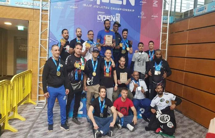GF Team със 7 медала от откритото първенство по джу-джицу в Мюнхен