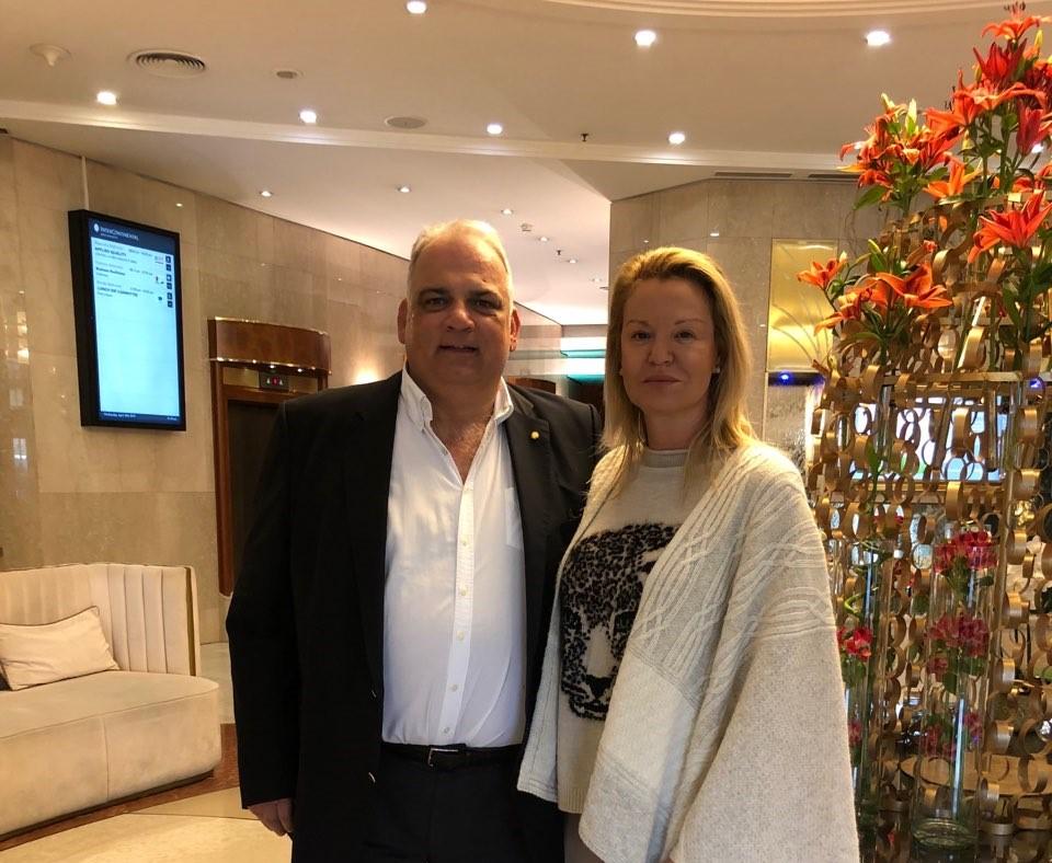 Костадинова на среща с шефа на Световната федерация по борба