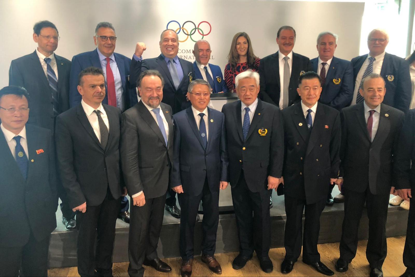 Двете таекуондо федерации на среща с Международния олимпийски комитет