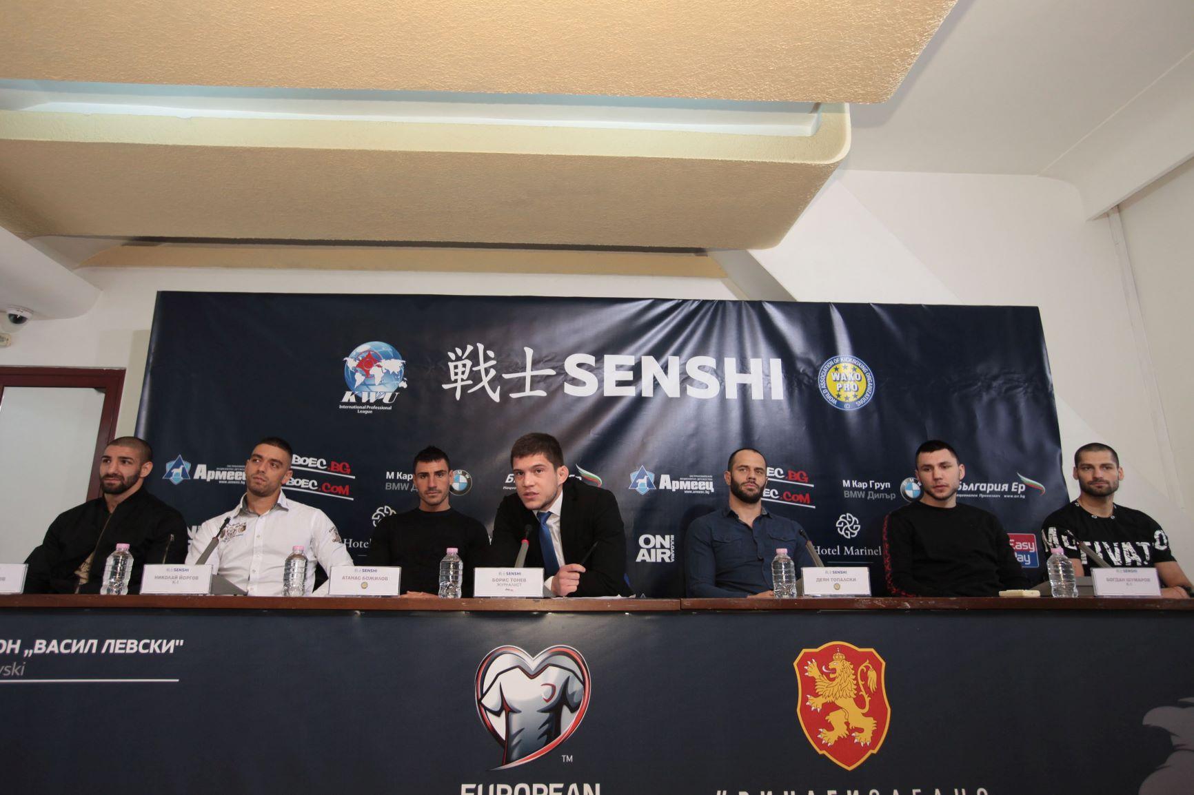 Българските бойци в топ форма преди второто издание на SENSHI (ВИДЕО)