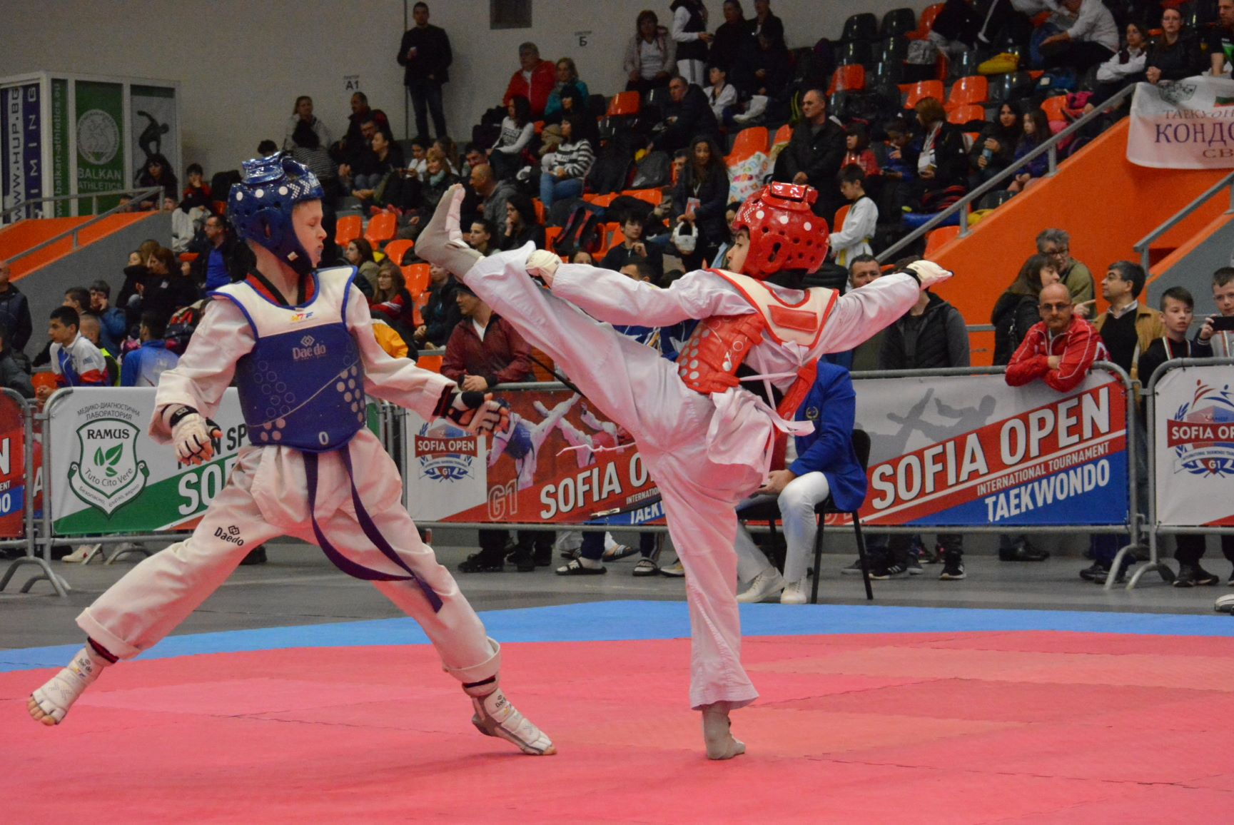 "Българските таекуондисти с 33 медала от ""Sofia Open"""