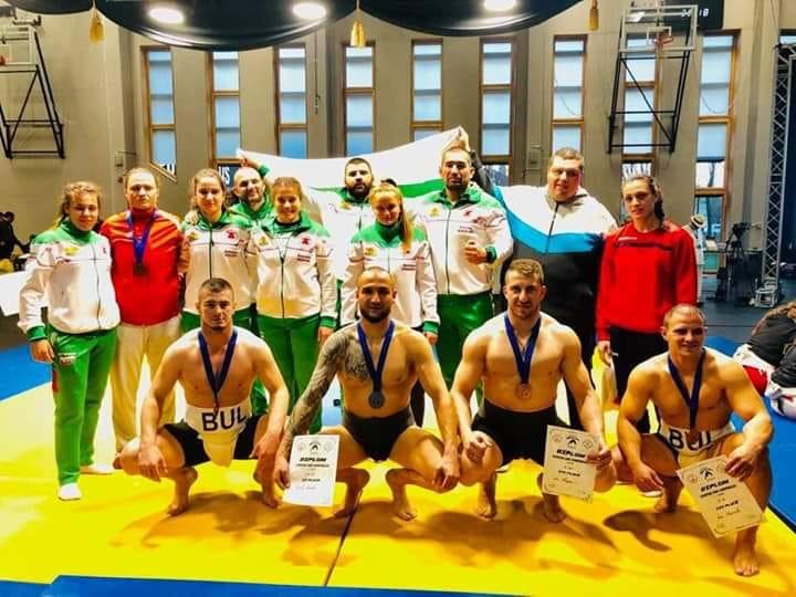 Девет медала за България от Европейското първенство по сумо