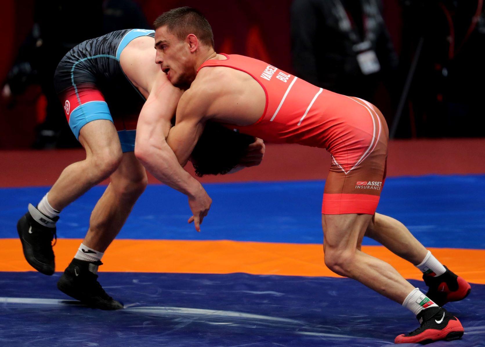 Георги Вангелов остана пети на Европейското по борба