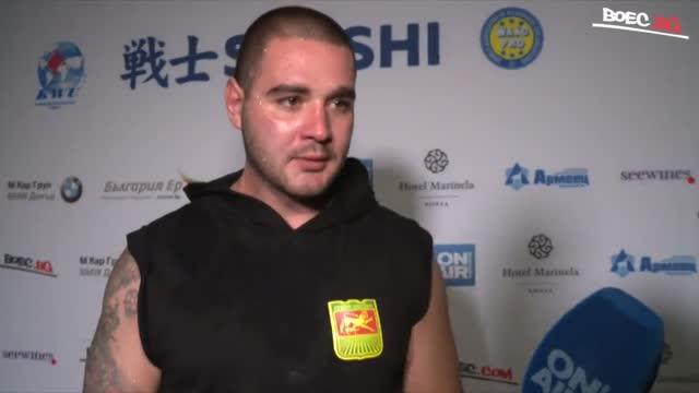 Костадин Костов след бързата победа на SENSHI: Искам всички мачове да са ми такива