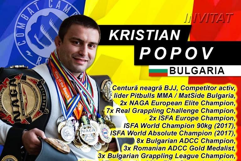 Български шампион по граплинг ще бъде треньор на семинар в Румъния