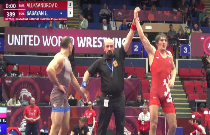 Даниел Александров се класира на 1/2-финал в Букурещ