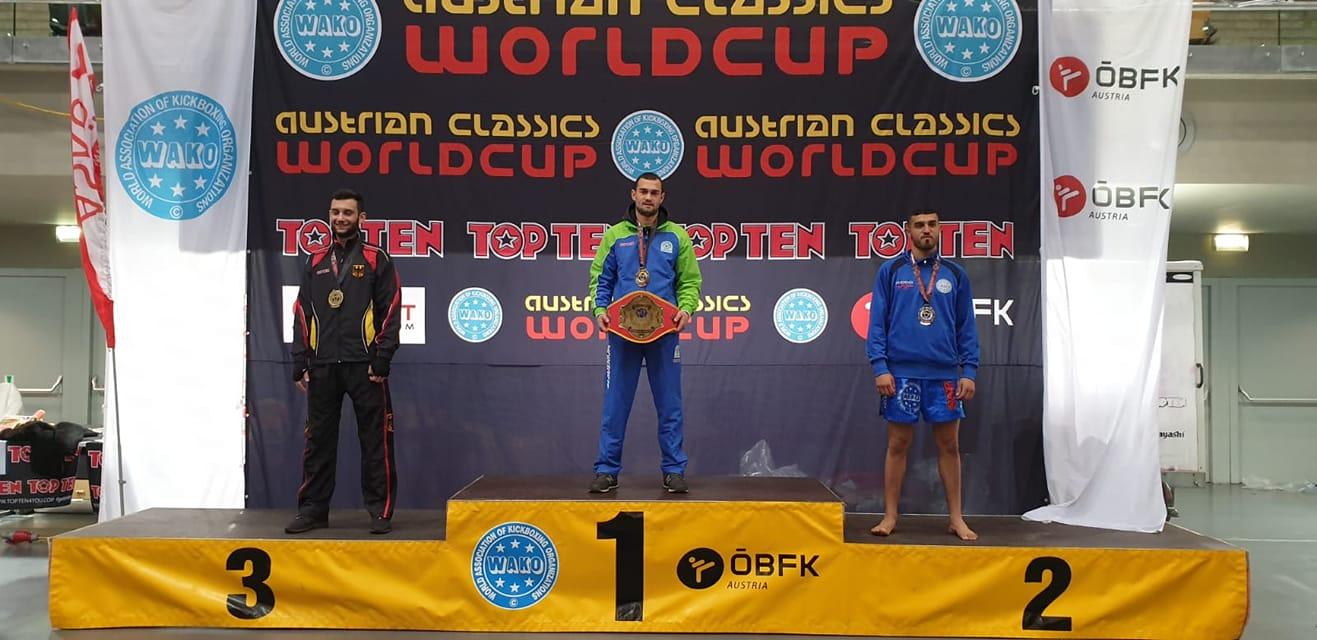 Българин спечели Световна купа по кикбокс в Австрия