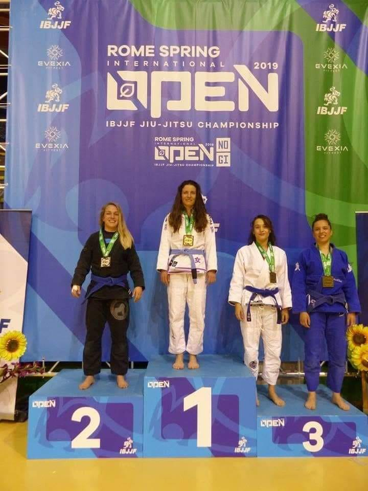 Българска титла на турнир по бразилско джу-джицу в Рим