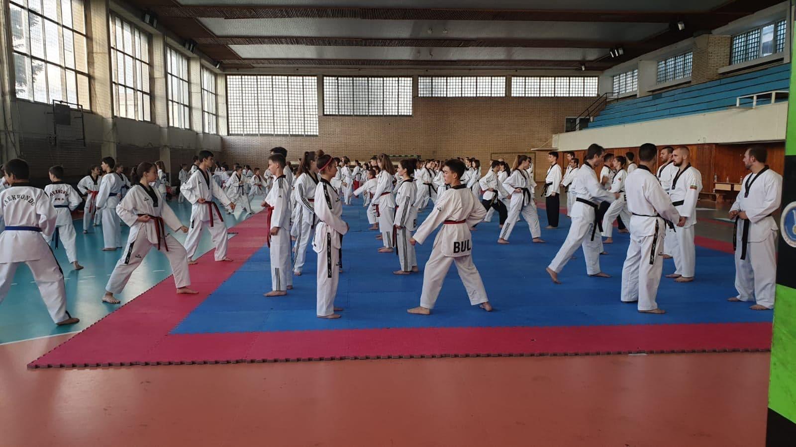 Федерацията по таекуондо WTF прави нова обща тренировка