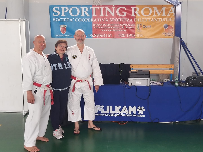 Българин води семинар по джу джицу в Рим