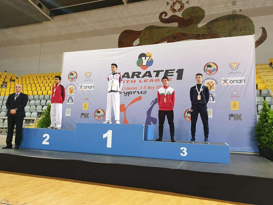 Четири медала за България от Световна младежка карате лига