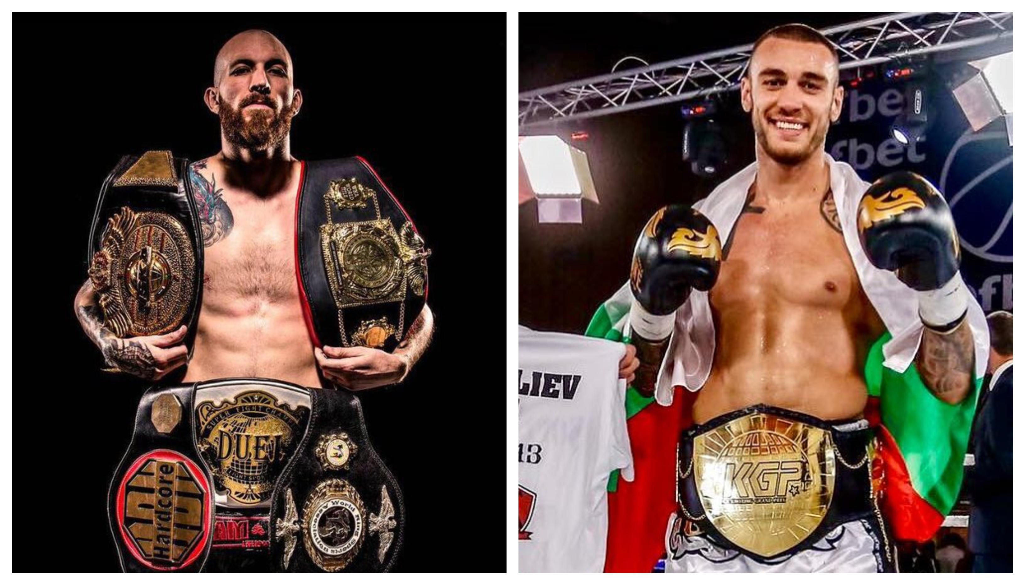 Даниел Илиев ще защитава титла срещу британски топ кикбоксьор