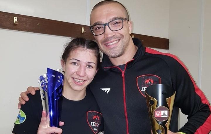 Александра Тончева: Горда съм, че съм първата българка в Белатор