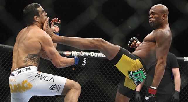 Поглед в миналото: Най-бруталния нокаут на Андерсън Силва (ВИДЕО)