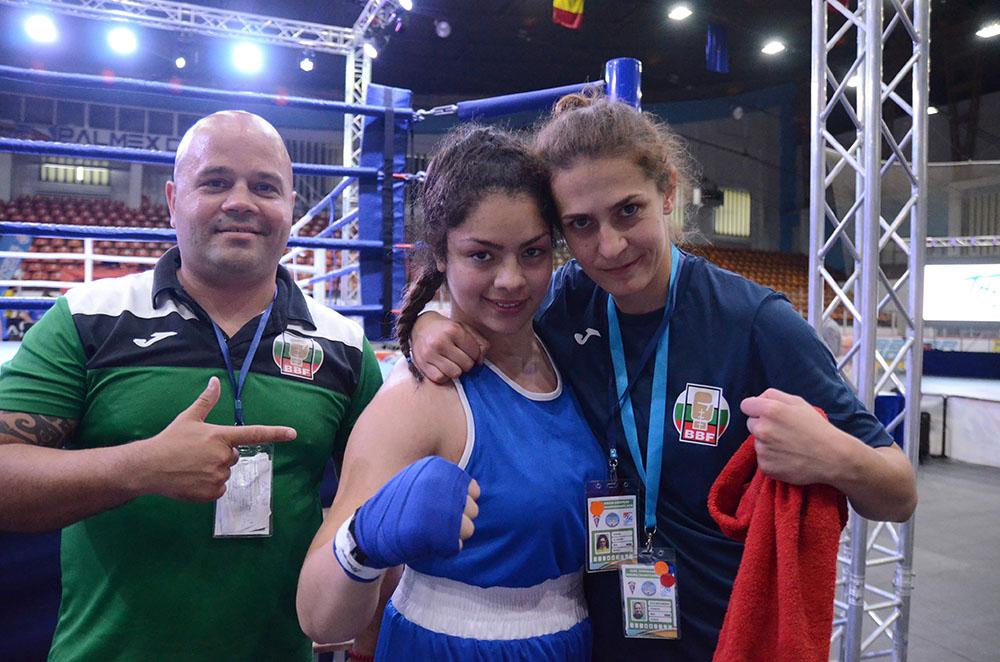 Сребърно отличие за Диана Ал Шаар от Европейското по бокс