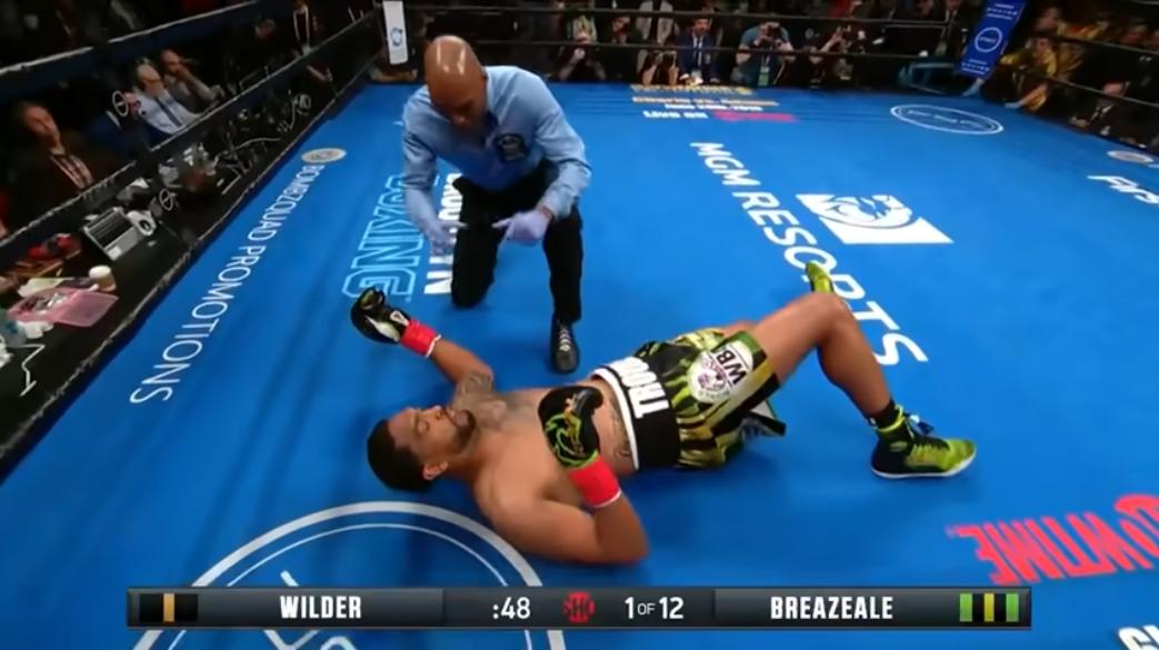 Дионтей Уайлдър защити титлата си с нокаут