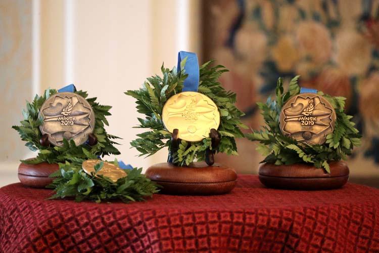 Представиха медалите за Европейските игри