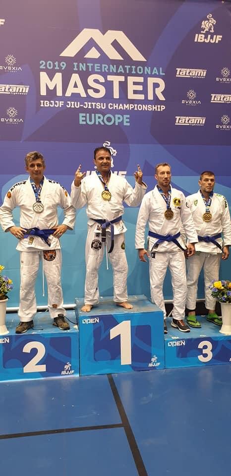Българин спечели златен медал от турнир за ветерани по бразилско джу-джицу