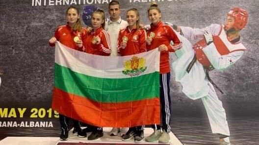 Таекуондистките ни с 4 златни медала от Тирана