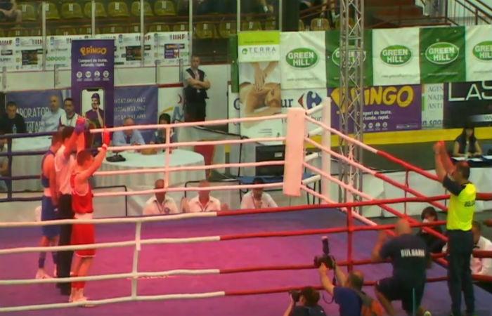 Красимир Джуров е европейски шампион по бокс