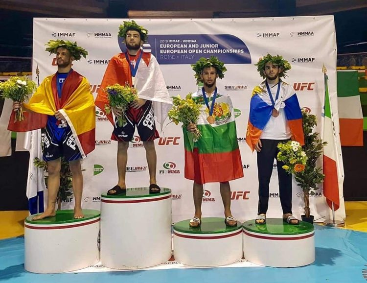 България с пет медала от европейското първенство по ММА
