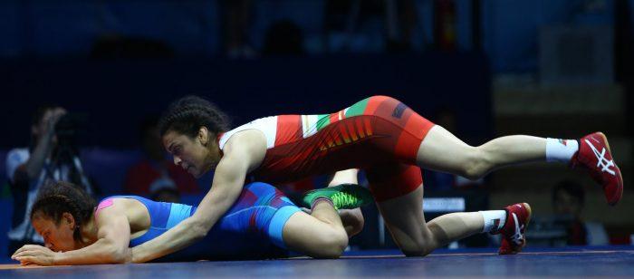 Българското участие в 8-ия ден на Европейските игри в Минск
