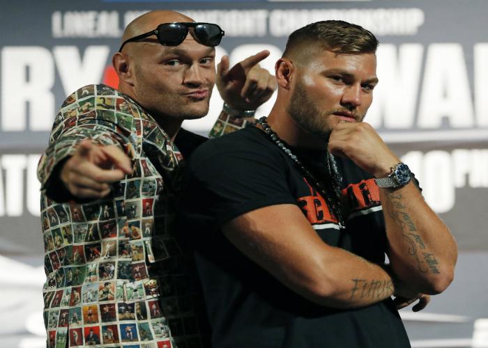 Шоуто Фюри: Два рунда бокс и песни в Лас Вегас