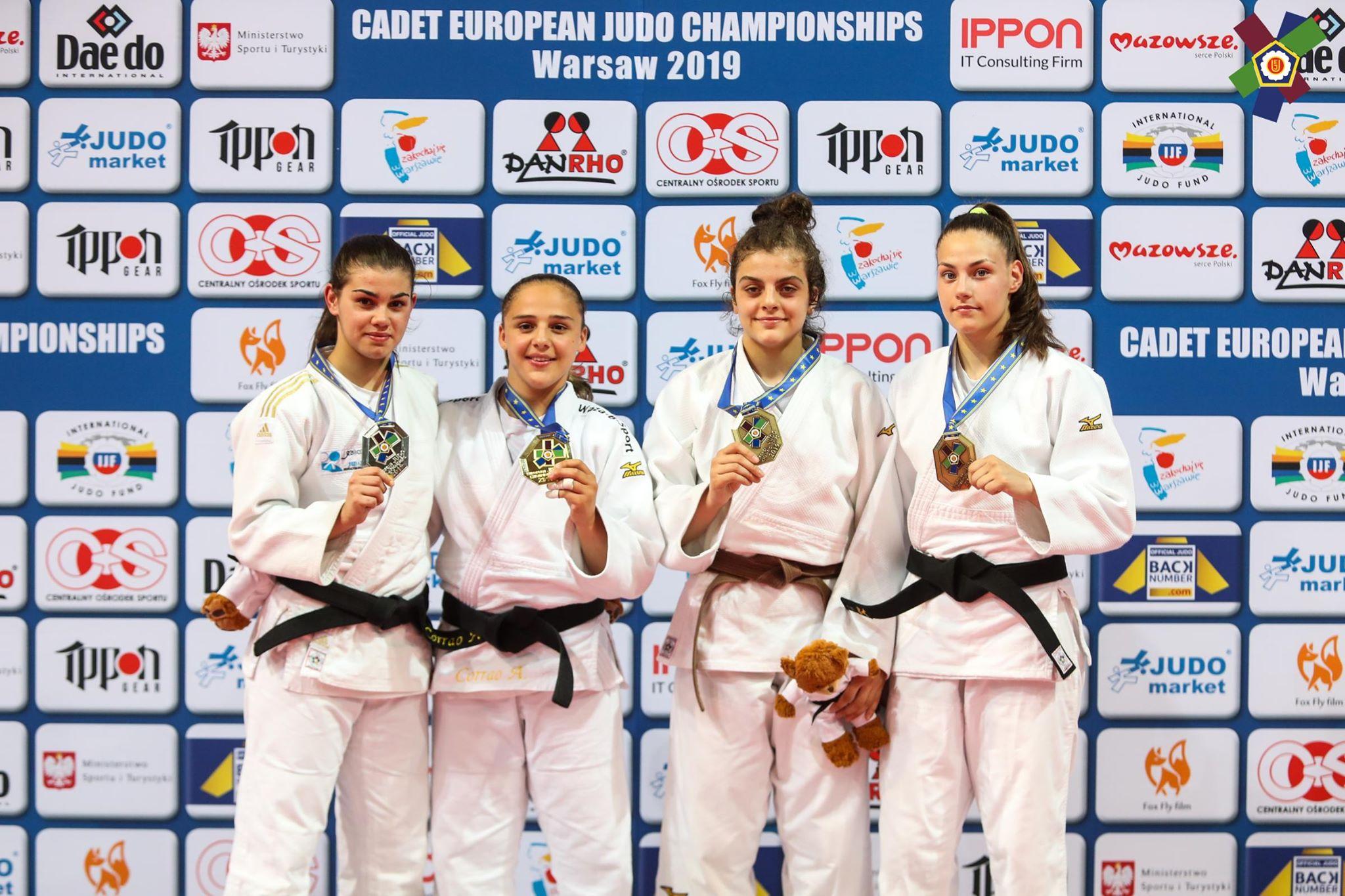 Втори медал за България от европейското по джудо за кадети