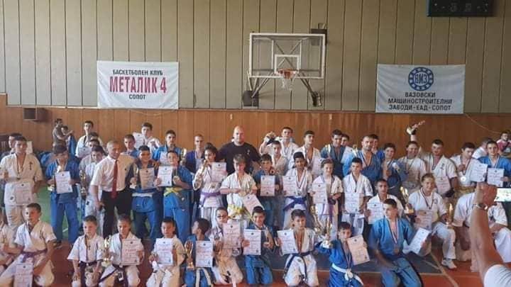 100 бойци се включиха в Държавния шампионат по кудо