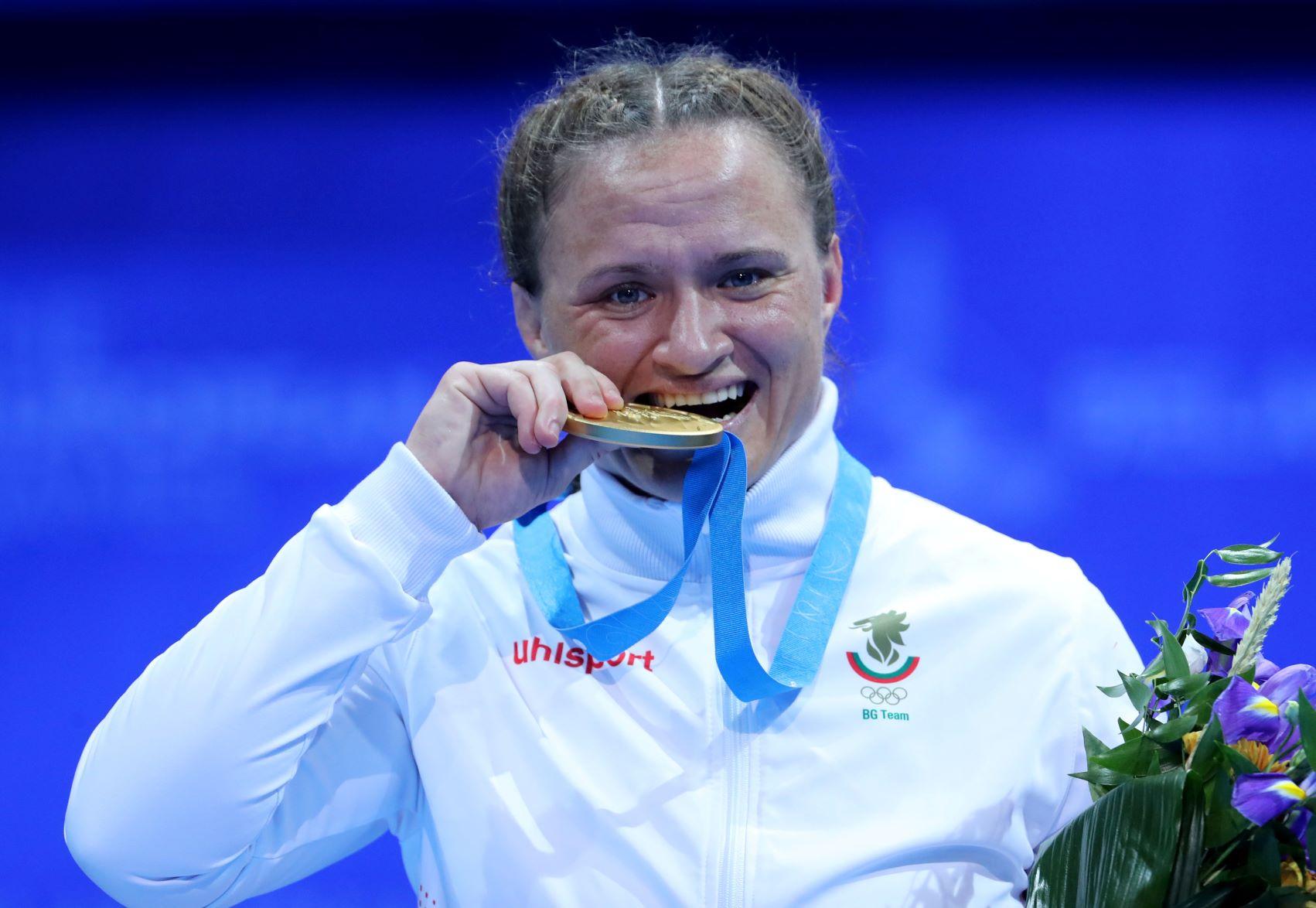 "Мария Оряшкова наградена с приза ""Ярка победа"""