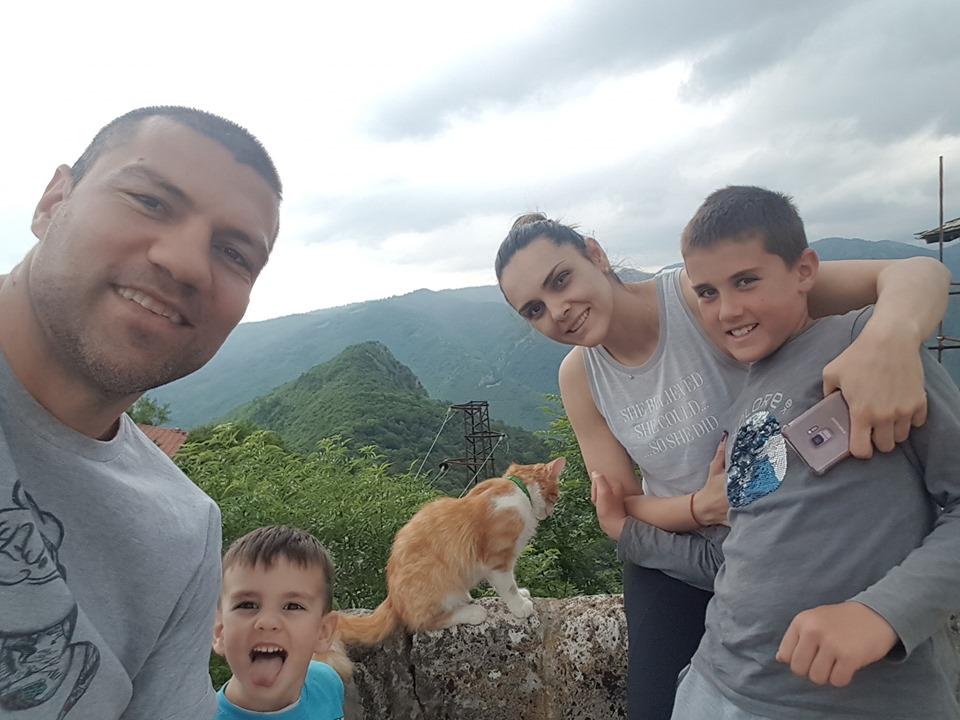 Тервел на семейна почивка в Тетевенския балкан