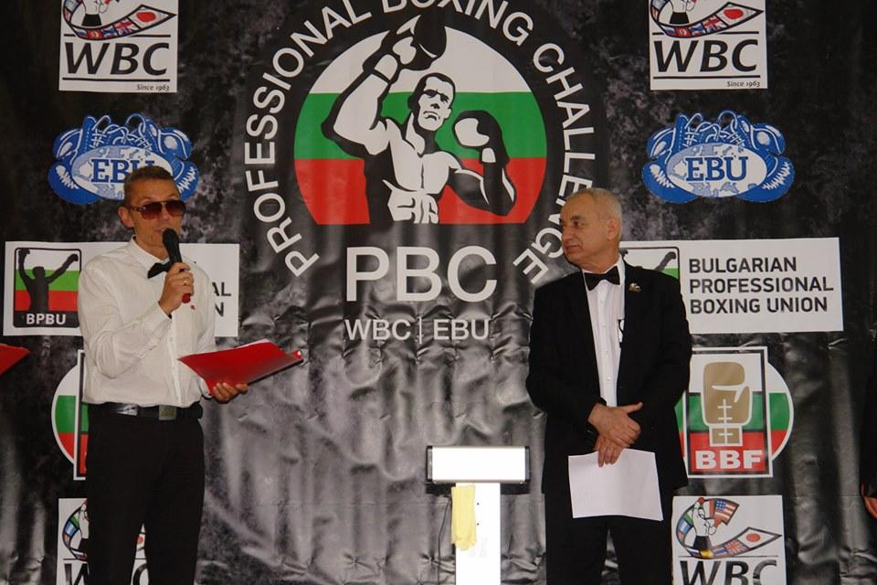 Трима братя с участие на боксова гала за професионалисти