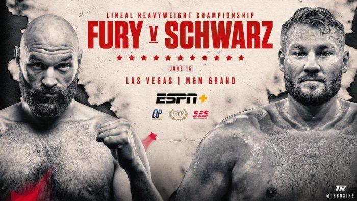 Фюри-Шварц може да е за световната титла на WBO