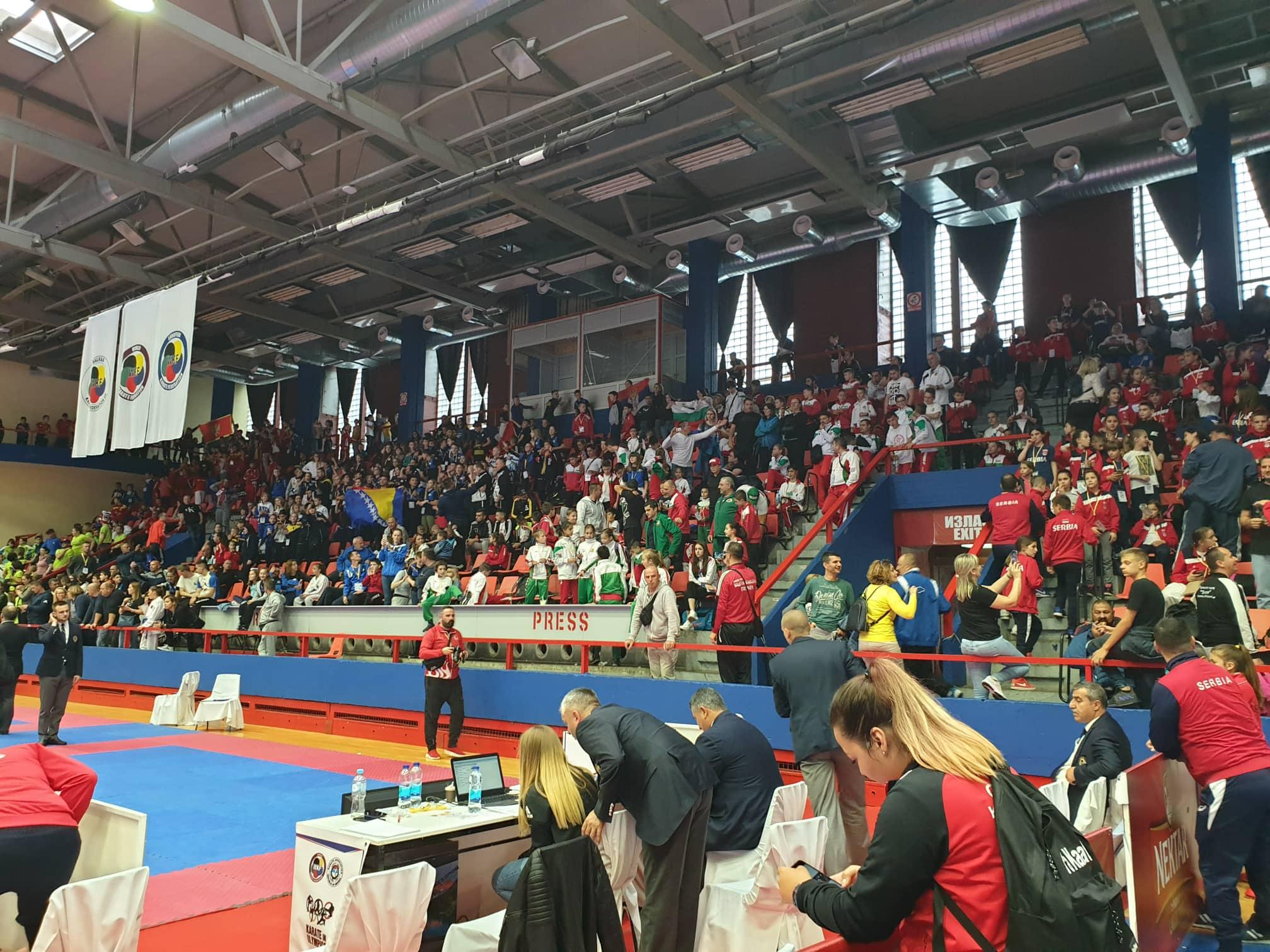 България стартира с три медала от Балканското по карате за деца