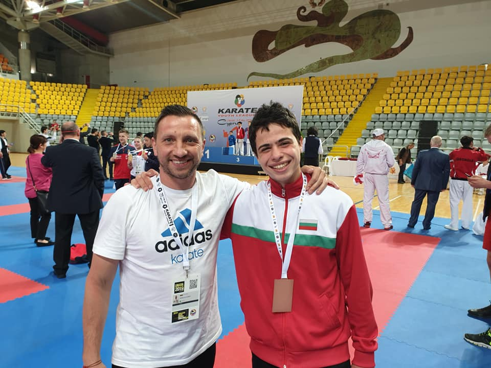 Българин в топ 10 на световната ранглиста по олимпийско карате