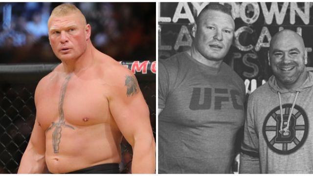 Когато Брок Леснар стана шампион на UFC (ВИДЕО)