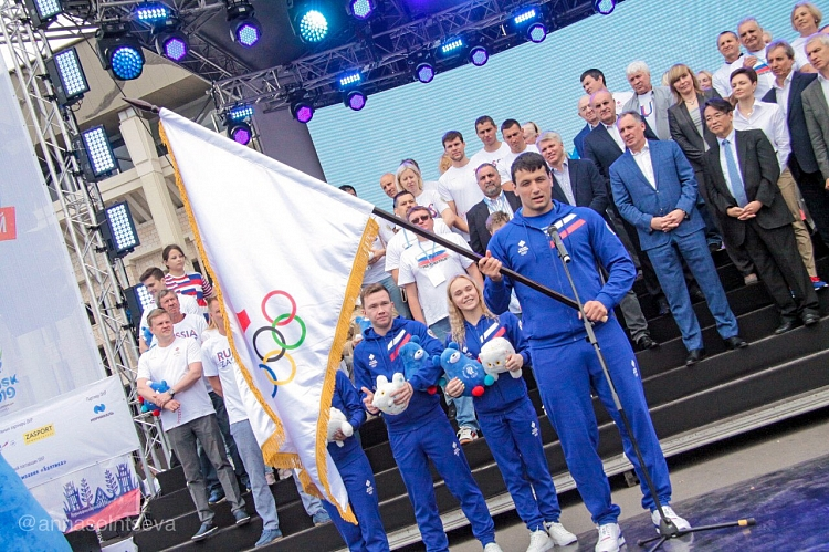 Самбистът Осипенко – руският знаменосец на Европейските игри