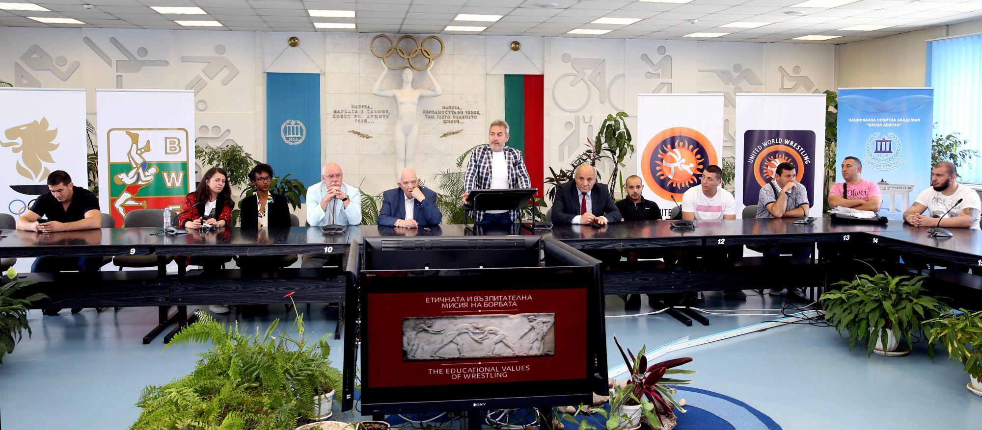 Българската борба проведе иновативен семинар в НСА