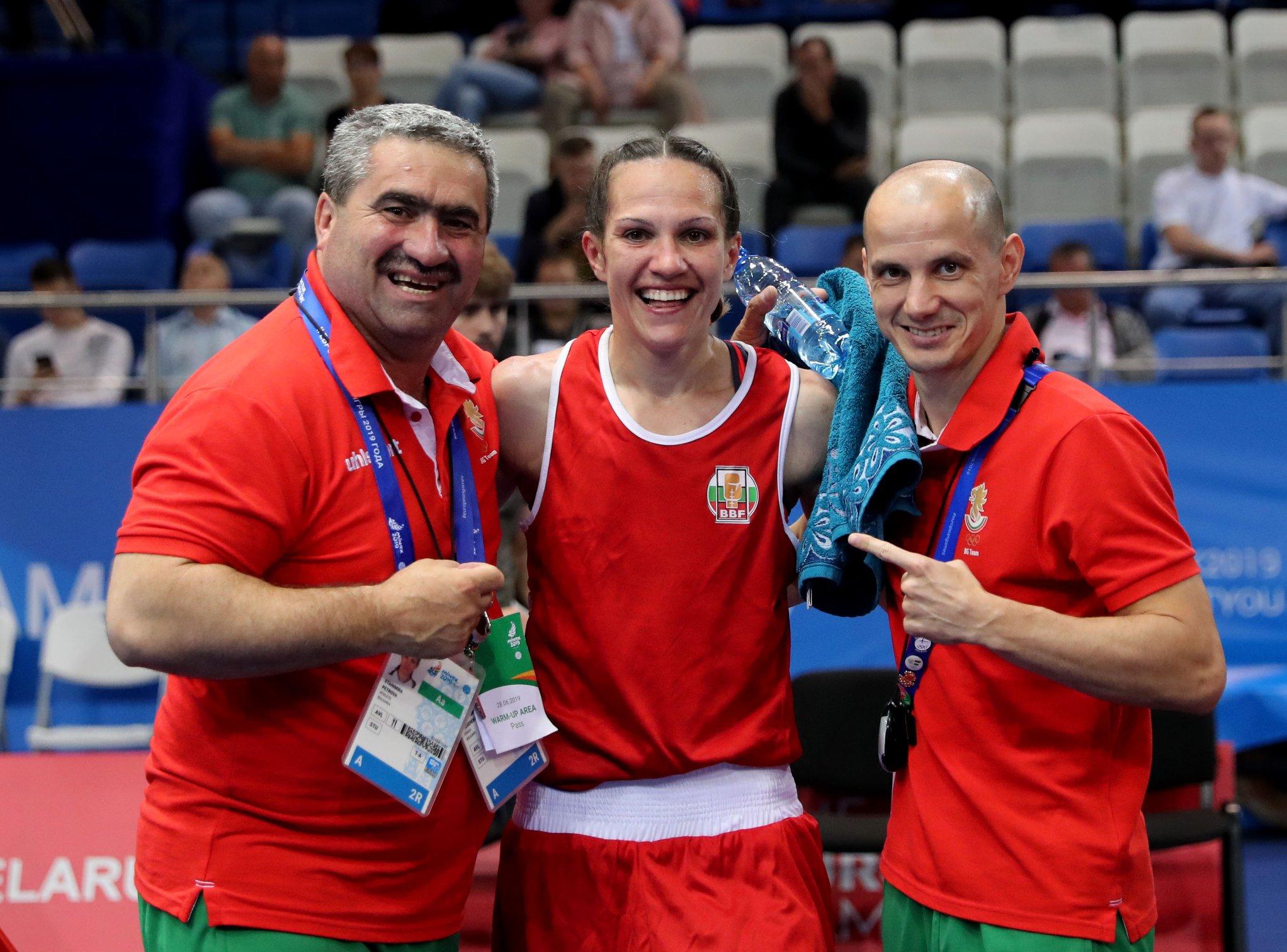 Чудесен жребий за Станимира Петрова на Европейското първенство