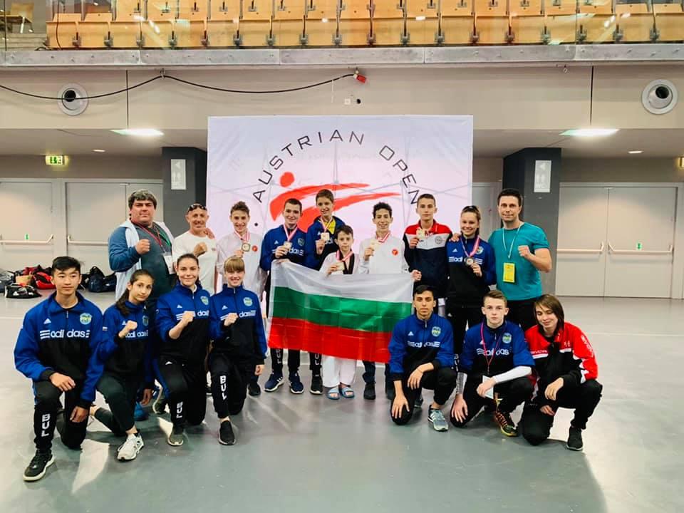 Калоян Бинев със загуба на старта в Рим, медали за българите в Австрия