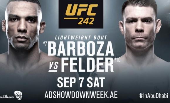 Официално: Барбоса срещу Фелдер на UFC 242