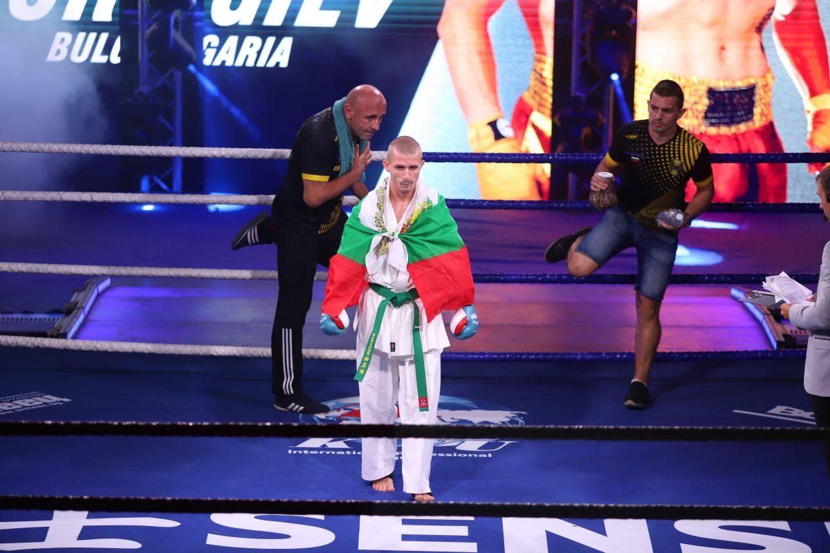 Георги Георгиев донесе първата българска победа на SENSHI Cup
