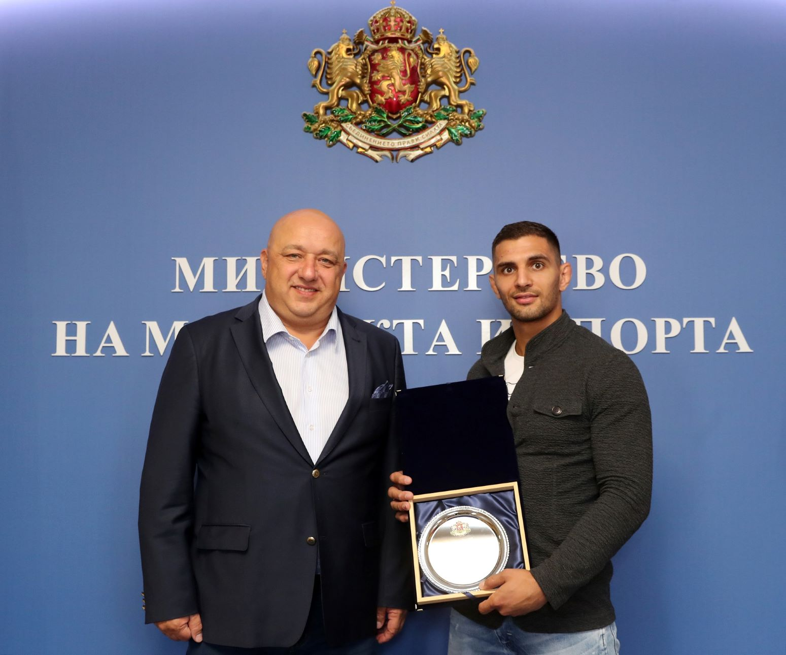 Ивайло Иванов и Атанас Герчев с награди от Министерството на спорта