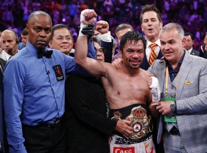 Мани Пакиао: Боксовата ми кариера приключи!