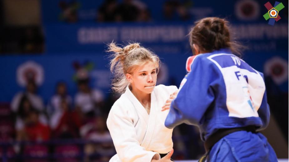 Джудистката Анастасия Балабан спечели сребърен медал в Баку
