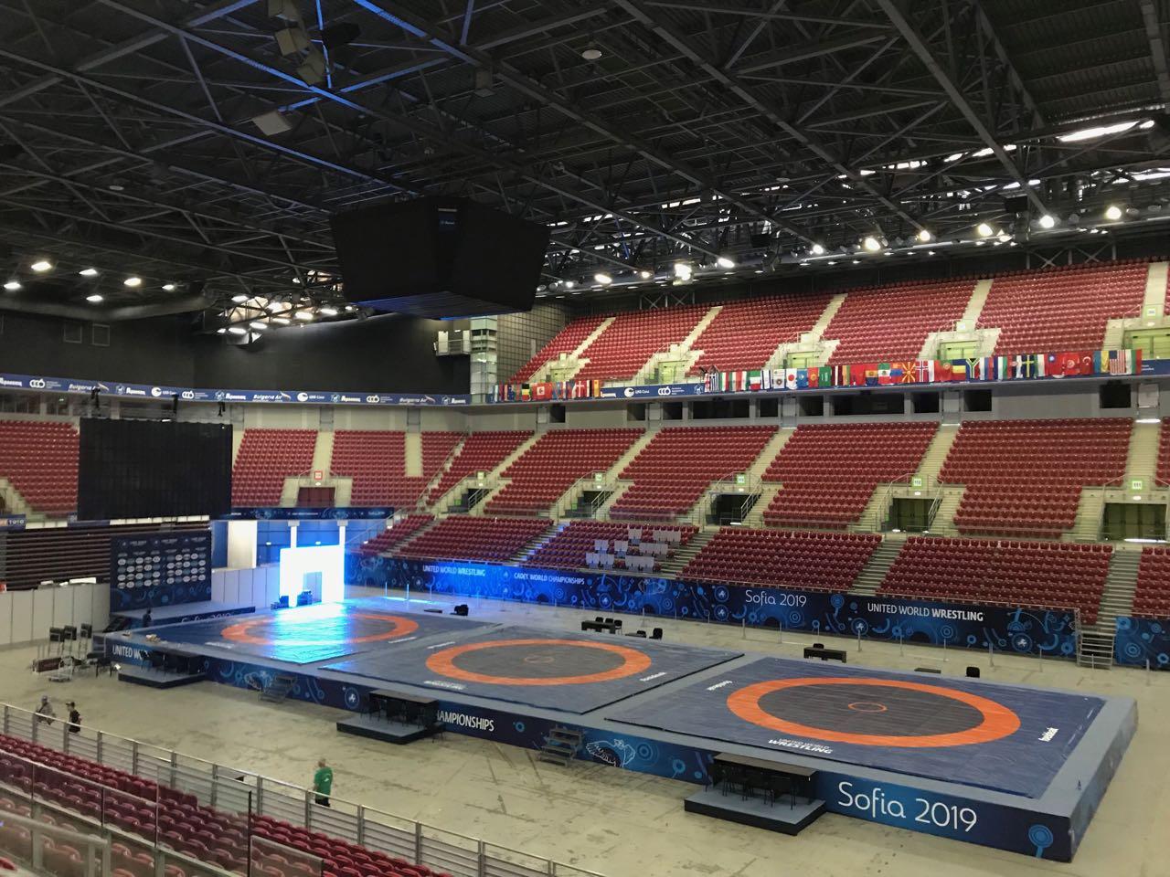 Министерството на спорта е дало 350 000 лева за световното по борба